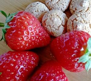 Erdbeer und Amarettinis