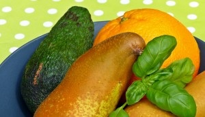 Avocado Birnen Orangen