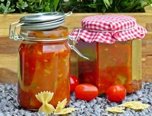 Zucchini-Paprikachutney