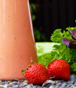 Erdbeervinaigrette