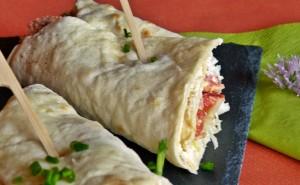 Thunfisch-Weisskraut Wraps